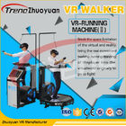 Multiplayer Video Game Virtual Reality Treadmill , Airport Motion 9D Movie Theater