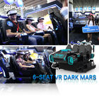 Family 6 Seats 9D Virtual Reality Simulator With English Language Movies And Interacitve Games