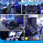 Amusement Park 9D Virtual Reality Simulator F1 Racing Car Machine 550KG 2.5*1.9*1.7M