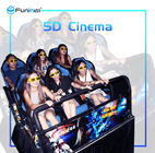 Interactive Attractions Full Motion Cinema 3d 5d 7d Hologram Technology Cinema System