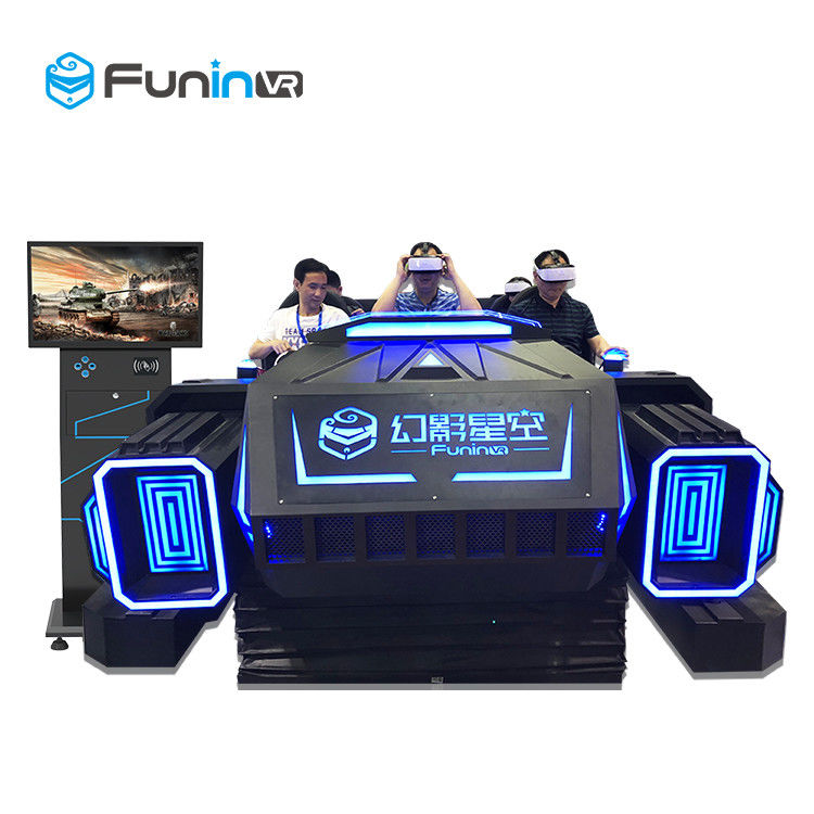 6 Seats 9D Virtual Reality Cinema VR Multiplayer Game Car Equipment With ISO9001