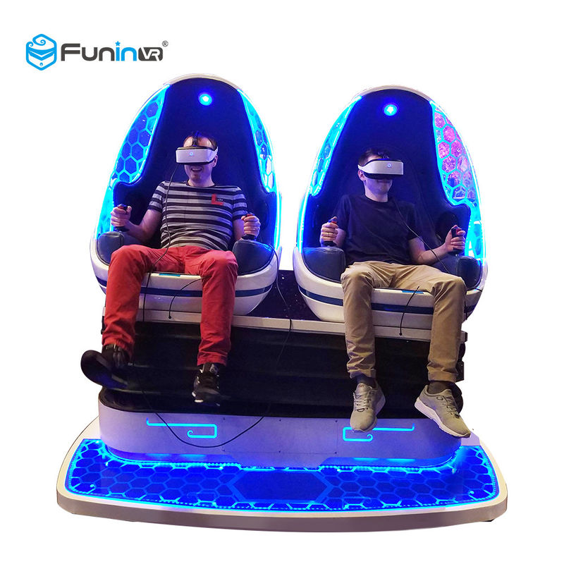 Kids 9D Virtual Reality Simulator Cinema VR Motion Chair Interactive Games