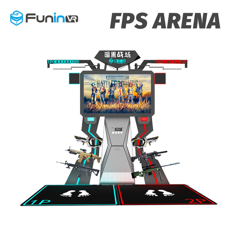 2 Players Interactive Arcade Game Machine FPS Arena 9D Virtual Reality Cinema