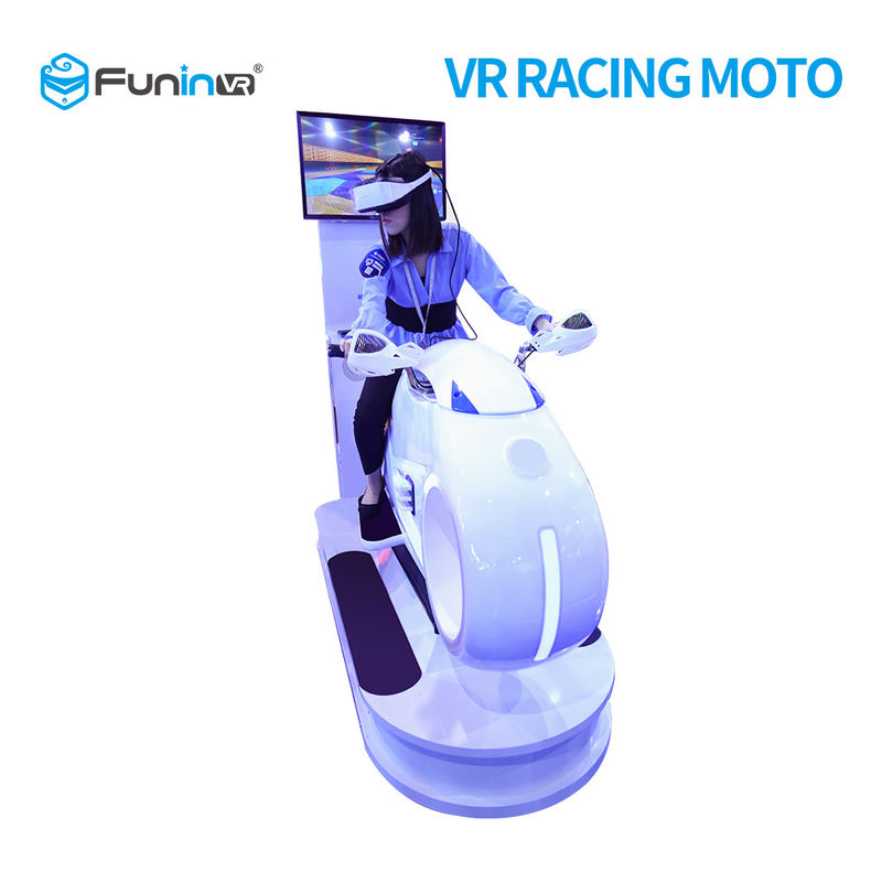5 Games 9D VR Simulator / Motorcycle Racing Simulator 1250X3065X2338 Mm Size