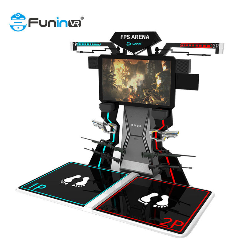 Weight 278kg FPS Arena Gun Shooting 9D Virtual Reality Simulator Space Walk